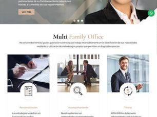 Axxia Capital - Sitio Web Corporativo