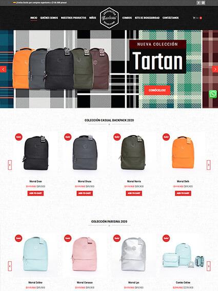 Diseño de e-Commerce para tienda Badass