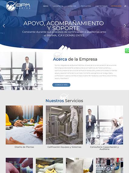BPM - Página web corporativa