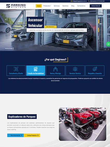 Catálogo de Productos - Parking Systems