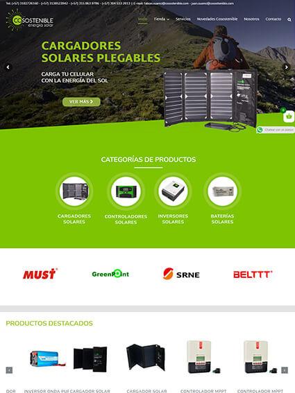 Cosostenible - Diseño de tienda online