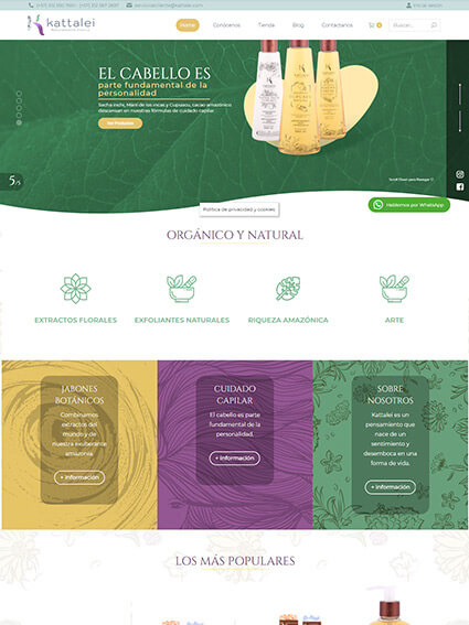Kattalei Diseño de Tienda Online