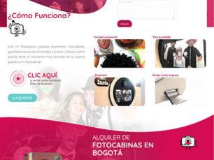 Diseño Web One Page - Mi Fotocabina