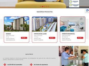 Diseño Web Corporativo - Maca Construcciones