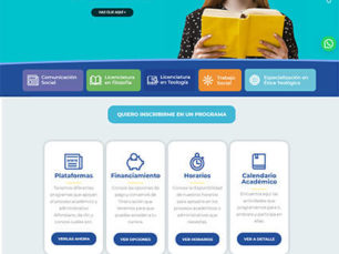 Diseño Web Corporativo - Universidad San Alfonso