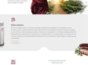 IDH Agrocolombia - Sitio Web Corporativo