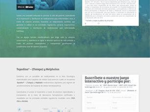 Diseño Landing Page - Orphan Drugs