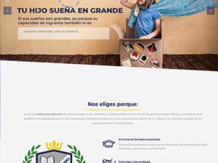 Página Web Corporativa - Colegio Real de Cundinamarca