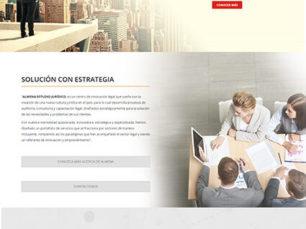 Sitio web corporativo - Almena Jurídico