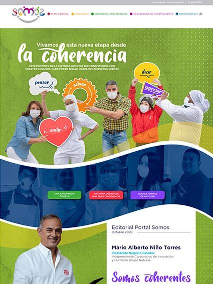 Web Corporativa - Revista Somos Meals Edición 4