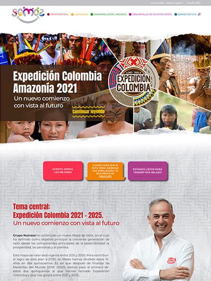 Web Corporativa - Revista Somos Meals Edición 5